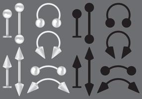 Body Piercing Vectors