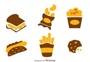 Snack Food Icons