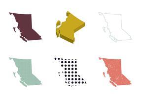 Free British Columbia Vector Map