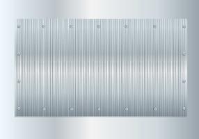 Brushed Aluminium Vector