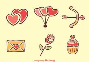 Love Cartoon Icons