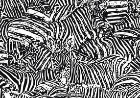 Free Vector Zebra Print Background