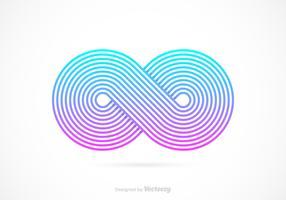 Free Retro Infinity Symbol Vector