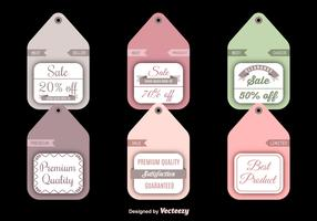 Sale and discount labels
