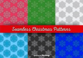 Snowflakes seamless wallpapers