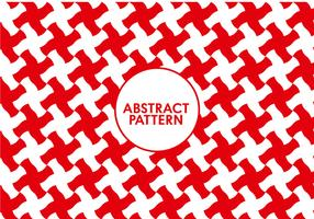 Seamless Abstract Red Pattern
