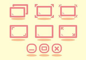 Full Screen Icon Set
