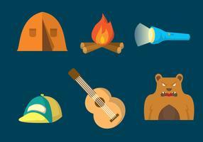 Camping Vector Set