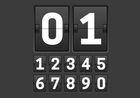 Free Countdown Timer Vector
