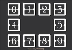 White Simple Number Counter