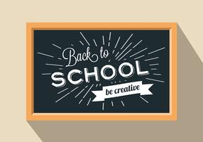 Free Back To School Vector Background