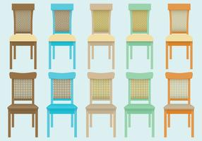 Wicker Chair Vectors