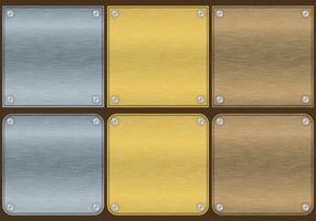 Aluminum Plate Vectors
