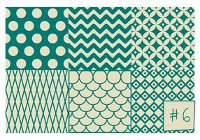 Free Mid Century Pattern #6