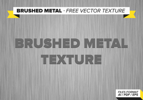 Brushed Metal Free Vector Texture