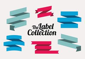 Free Labels Vector Collection