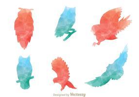 Silhouette Owl Vectors