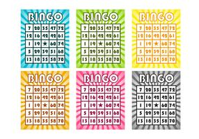Free Bingo Cards Vector