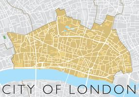 City Of London Vector