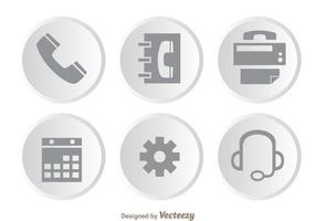 Costumer Service Gray Icons