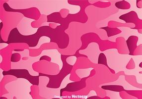 Gradation Pink Camo Vector