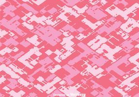 Diagonal Abstract Pink Camo Vector