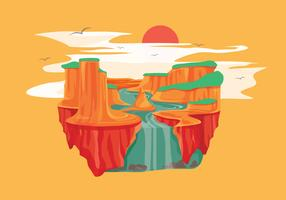 Grand Canyon Vector