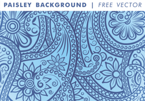 Paisley Background Vol. 3 Free Vector