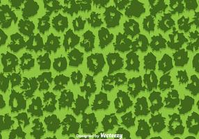 Green Leopard Pattern Vector