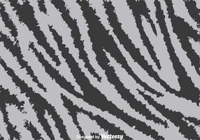 Gray Zebra Print Background