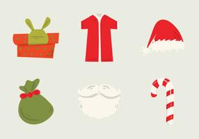 Free Santa's Workshop Vector Illustration