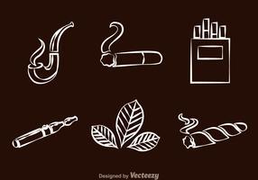 Smoking line Icons