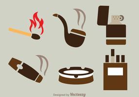 Smoke Flat Icons