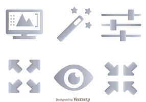 Photo Editing Tool Icons