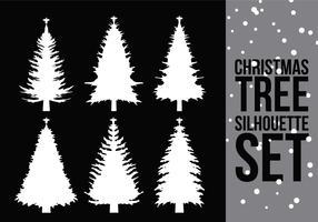 Christmas Tree Silhouette 2