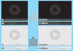 Media Player Vectors