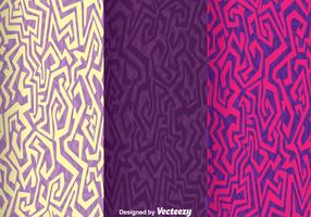 Ethnic Purple Background Vector