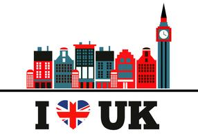 Free Love Uk Vector