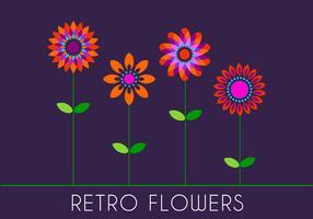 Retro 70s Flowers