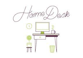 Free Desk Vector