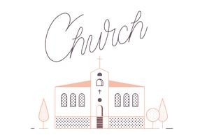 Free Church Vector