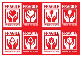 Free Handle With Care Vector