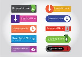 Download button vectors