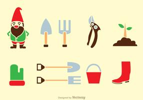 Gardening Tools Icons