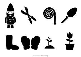 Gardening Black Icons