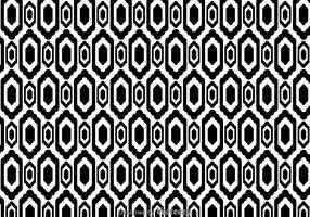 Ethnic Black And White Pattern