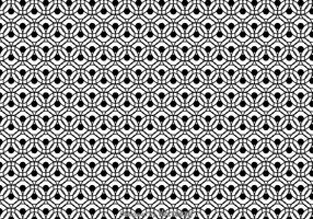 Black And White Circle Pattern