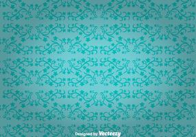 Blue Flowers Ornament Wall Tapestry
