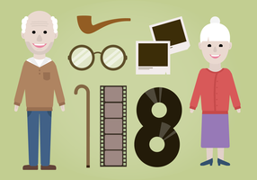 Free Grandparents Vector
