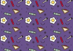 Free School Lunch Vector Pattern #4